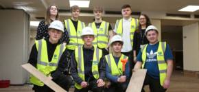 Popular community hub renovated with help from traineeship construction academy