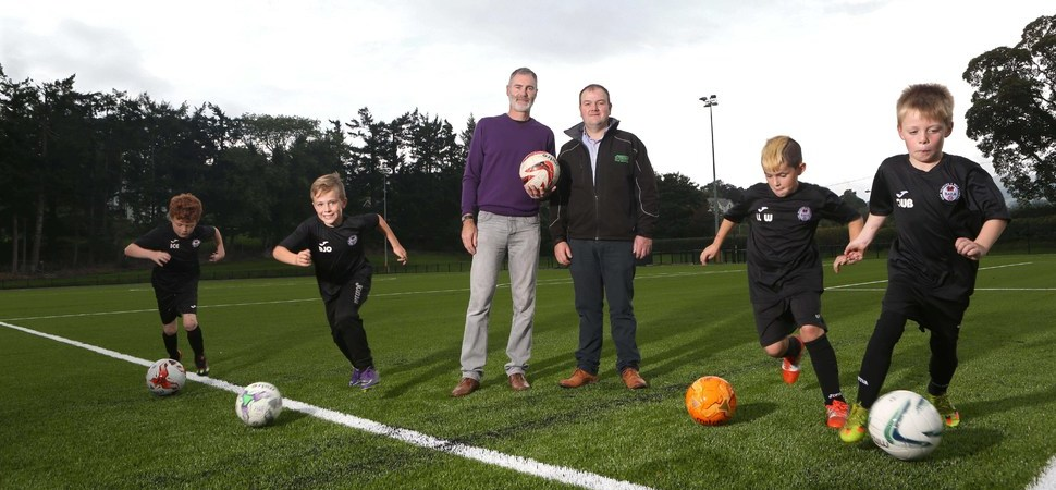 Jones Bros support Bala FC's pitch perfect venture