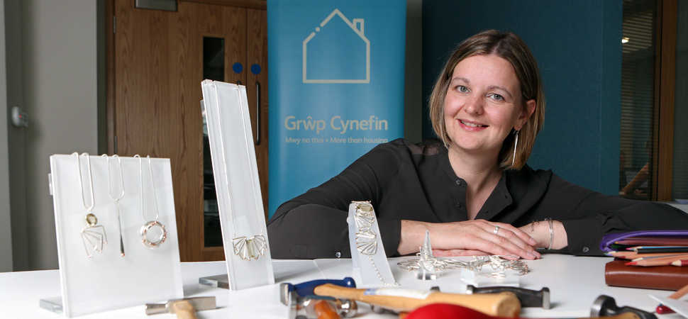 Homes to feature on contemporary jewellers 2019 Conwy Eisteddfod Crown design
