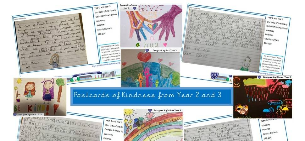 Durham schoolchildren spread kindness across region