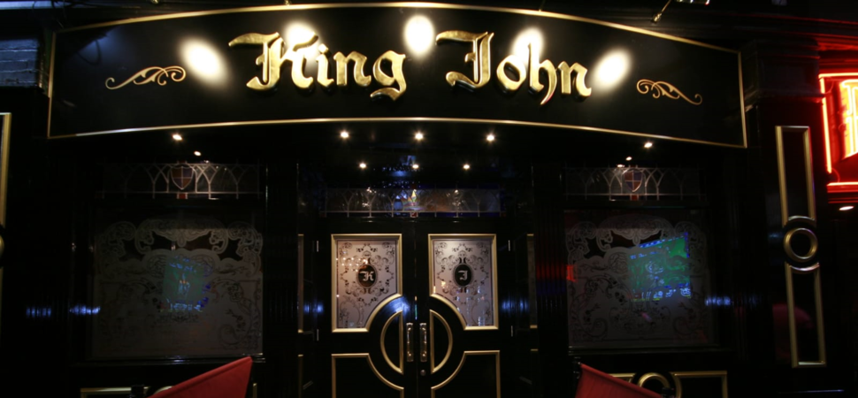 King John now open on the world famous Mathew Street - Liverpool