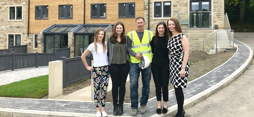 Huddersfield house developer doubles target and raises £22,000 for charity