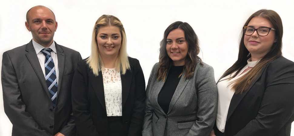 Kirwans law firm develops in-house talent with four new training contracts