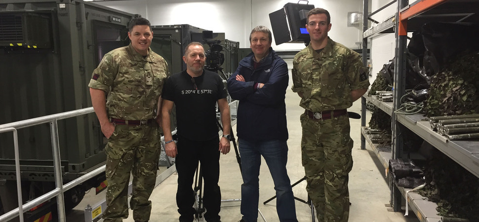British Army chooses Wrexham production company to shoot recruitment video