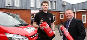 Engineer Kurt joins Jackson Fire & Security's alarm installation team