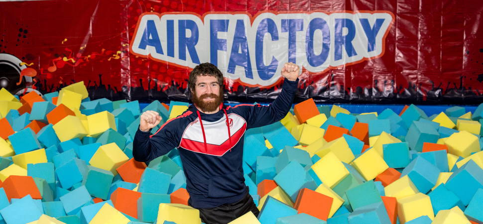 Air Factory trampoline park to sponsor rugby league star Kyle Amor