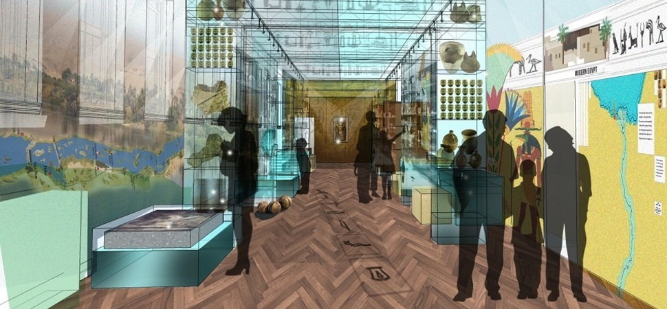 New designs for Bolton Egyptology gallery