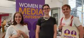 Women in Media conference makes generous donation to MASH