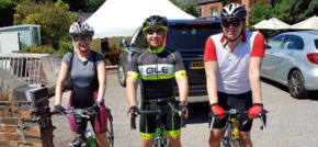 HURST cyclists gear up for Brakes-it tour of Europe