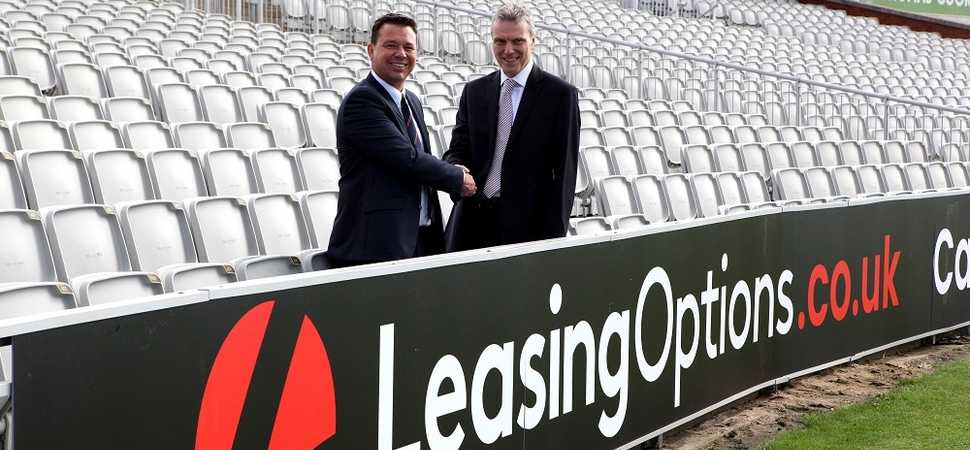 LeasingOptions.co.uk extends Lancashire County Cricket Club Partnership