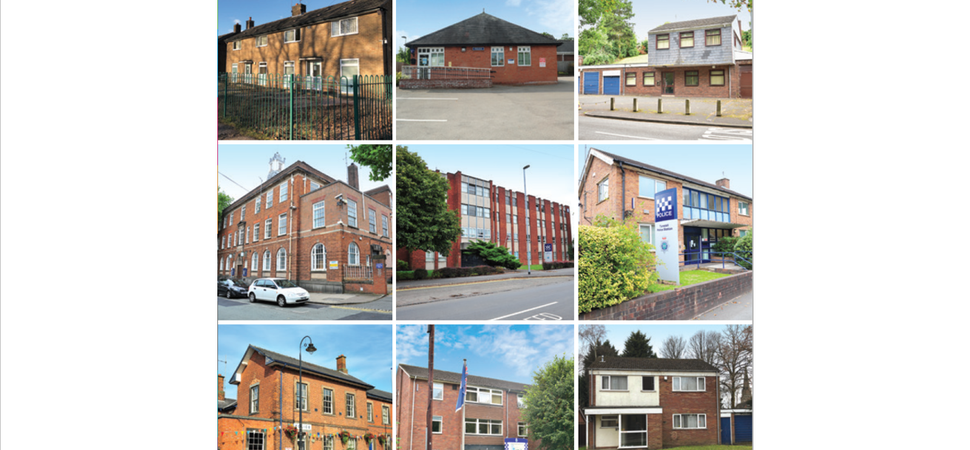 Eight former Staffordshire police properties now on sale