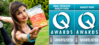 Zinda Foods AirWraps shortlisted as finalist for the Quality Food and Drink Awards 2019