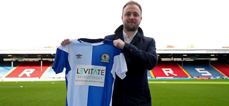 Levitate Recruitment are the 1st shirt sponsor for Blackburn Rovers Ladies