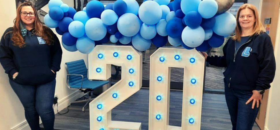BusinessLodge celebrates 20 years of boosting Bury's economy