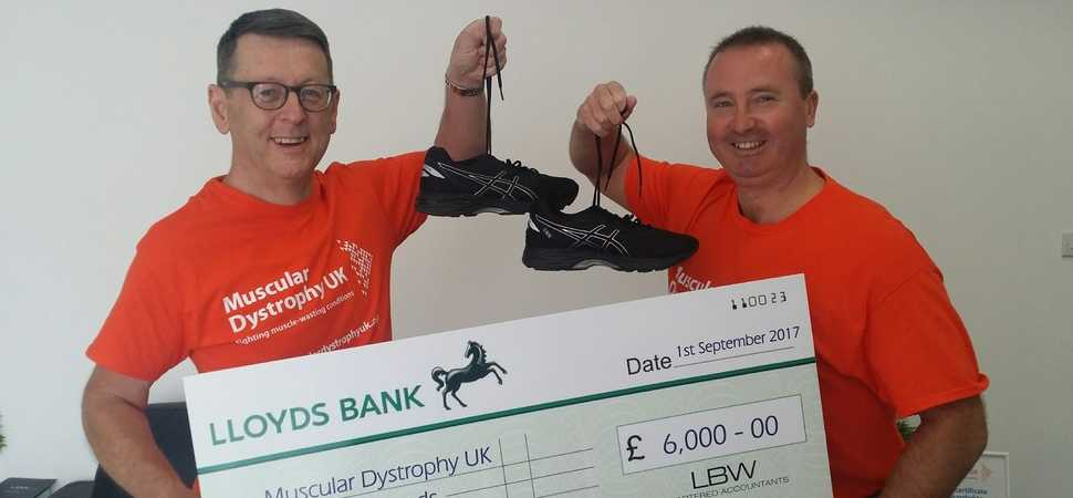 LBW Chartered Accountants raises more than £20,000 for charity