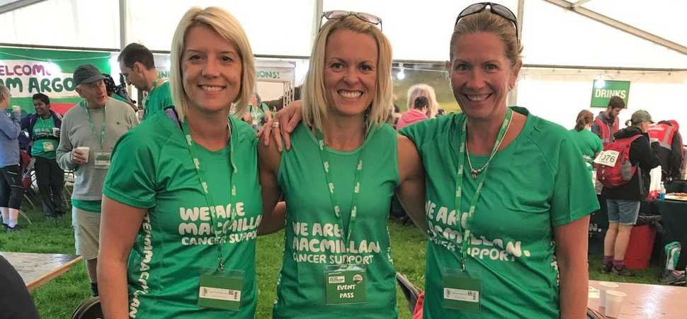 Leading Results trio complete Mighty Hike for cancer charity!