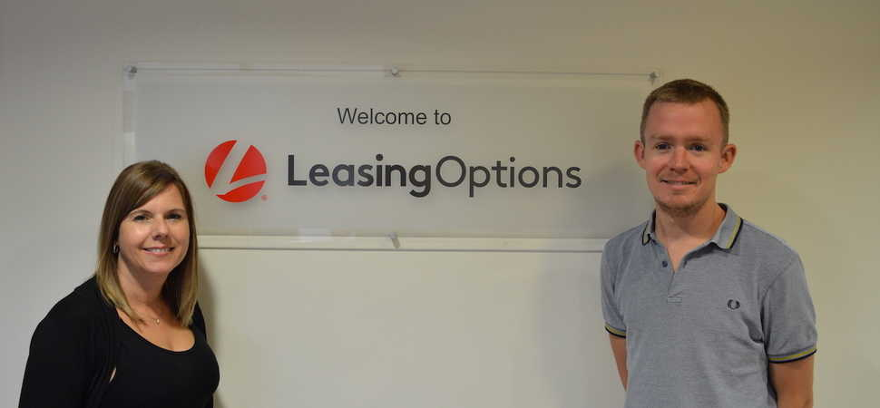 Walkden-based LeasingOptions.co.uk Daring Duo Head For the Skies