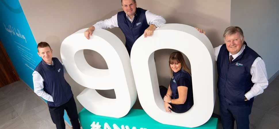 Anwyl celebrates 90th anniversary