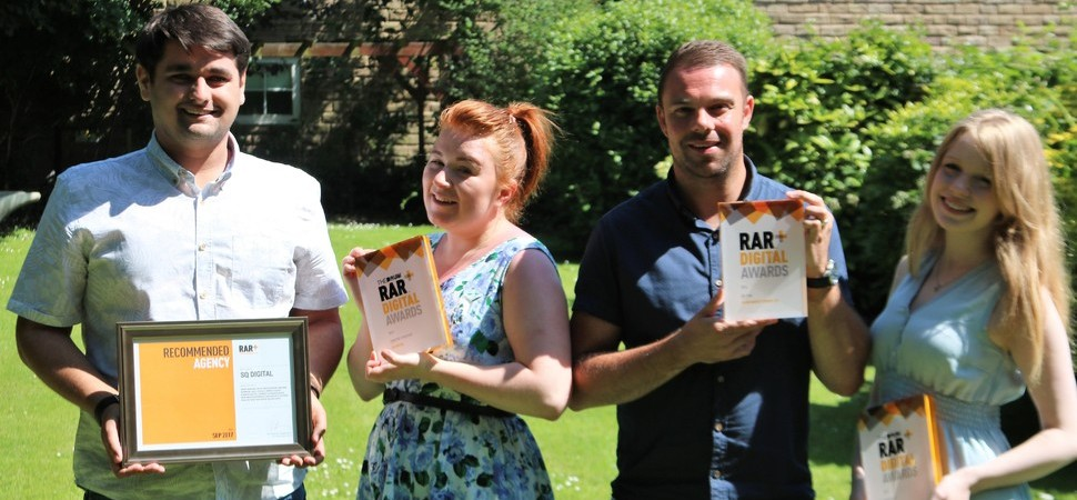 North West Digital Marketing Agency Wins Big at National RAR Awards