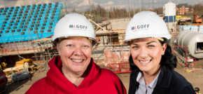 McGoff Construction go heart safe
