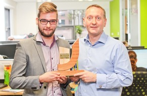 Award winner Lewis sets the bar for new Optionis apprentices