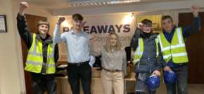 Pave Aways builds for the future with new apprentices