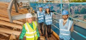 Construction milestone for Northampton apartment scheme