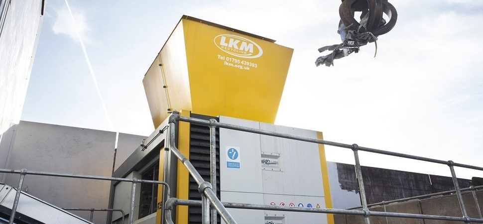 Boroughbridge-based UNTHAs largest four shaft shredder heads to LKM Recycling