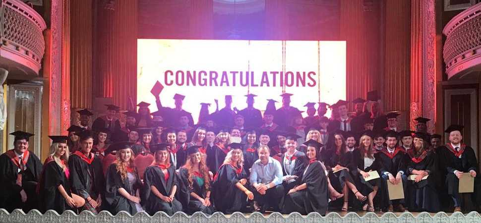 Iconic Liverpool actor surprises students at LMA Graduation