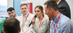 Apprenticeships can be the route to top manufacturing roles, students told