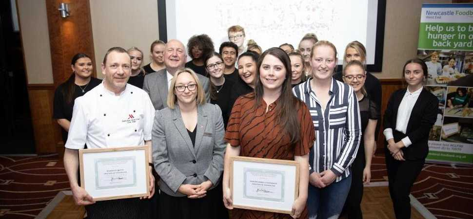 Northumbria students answer the call from leading Newcastle charity