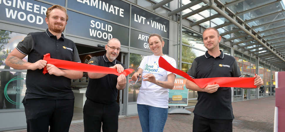 New Bristol store pledges local charity support