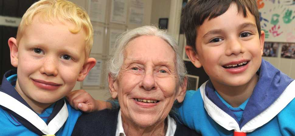 Down to a fine art  local children join Eye care home for the worlds largest drawing festival