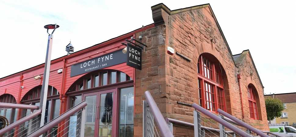 Loch Fyne Edinburgh welcomes local business community to experience newly refurbished restaurant