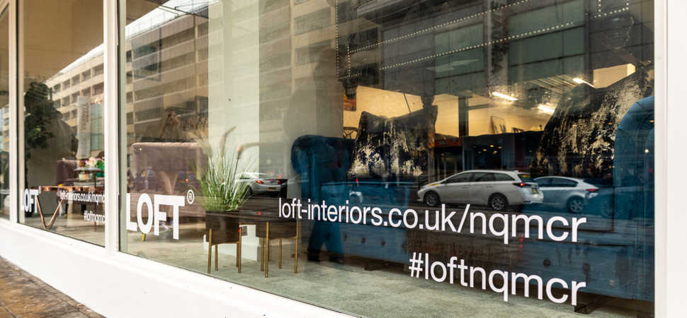 LOFT targets city-centre residents with new Northern Quarter showroom in Manchester