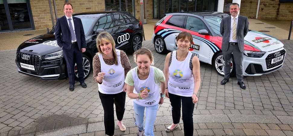 Hospice gets set for summer fund raising with help of motor retailer