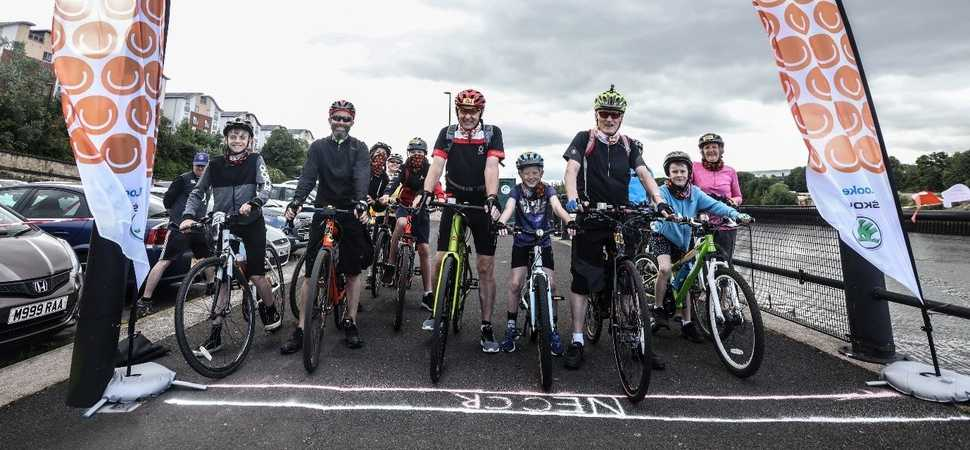 Childrens cancer bike ride raises £8,000 with help of Lookers sponsorship
