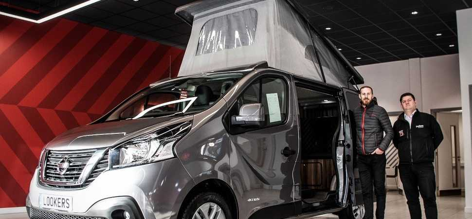 Lookers Nissan taps into staycation boom with new campervan conversion service