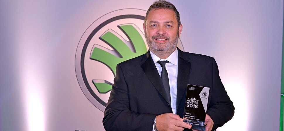 Newcastle Skoda dealer wins top used car retailer prize at manufacturer awards