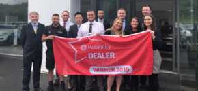 Newcastle dealership among the best for Motability care