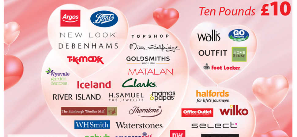 New retail collaborations for Park Groups Love2shop multi-retailer voucher