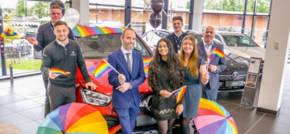LSH Auto supports Birmingham Pride 2021