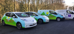 Lancashire to St.Lucia Vehicle graphics for a green government