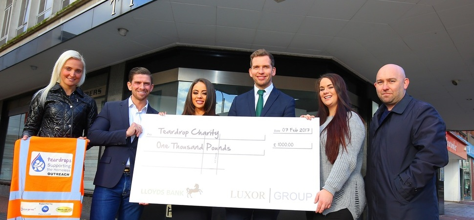 Luxor Group and Lloyds Bank team up to tackle homelessness