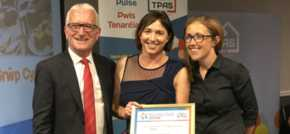 Housing association and its tenants secure double awards success