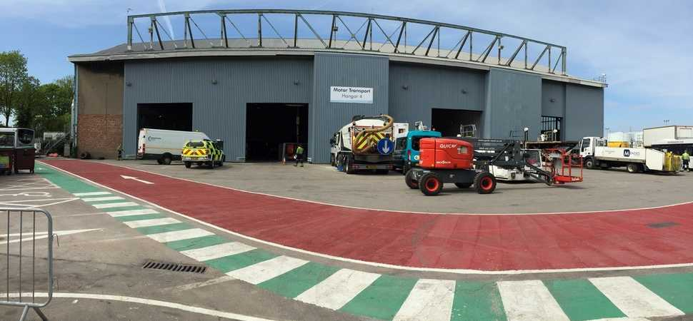 Salford-based MC Construction completes hangar upgrade at Manchester Airport
