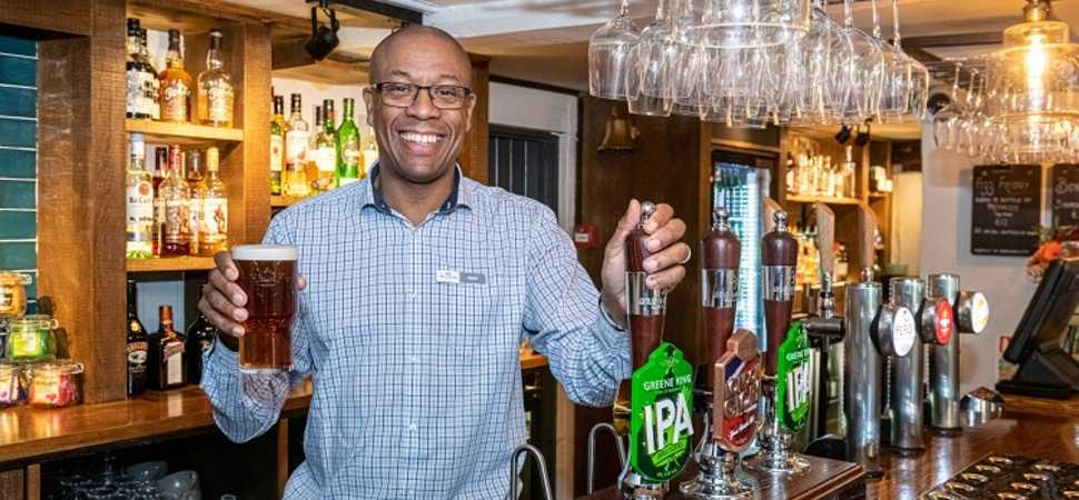 Harpenden pub reopens with fresh new look
