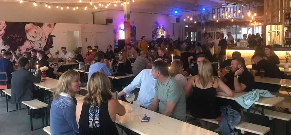 New Brightons Marine Street Social offers a front row seat for the Giants
