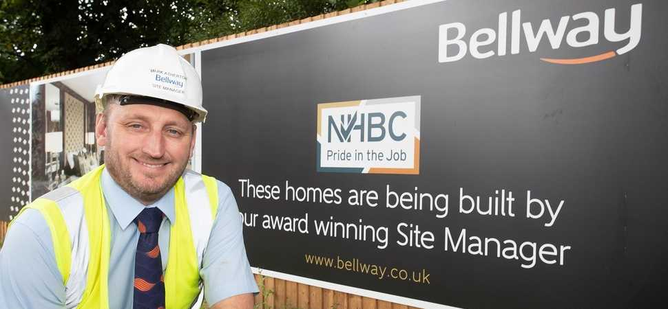 Didsbury Site Manager receives Pride in the Job award