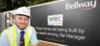 Bellway Site Manager receives Pride in the Job award